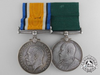 A First War Medal Pair to Major Hartley Graham; 36th Regiment