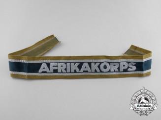 A German Afrikakorps Campaign Cufftitle