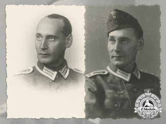 Two Period Photographs of the Volksgruppe in Croatia