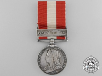 Canada. A General Service Medal 1866-70 to the Bomanville Rifle Company