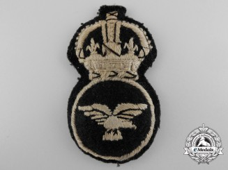 A Scarce Women's Royal Air Force; 1st Pattern 1918 Cap Badge