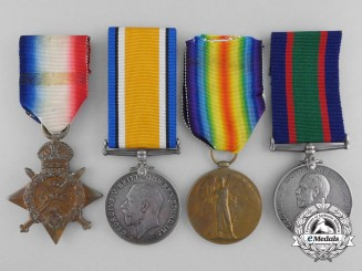 A First War Royal Naval Volunteer Reserve Medal Group