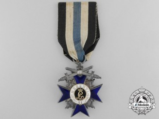 A Bavarian Order of Military Merit with Swords; Knight`s Cross by Hemmerle