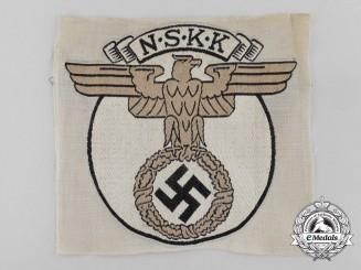 A National Socialist Motor Corps Sport Shirt Insignia