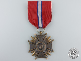 A Polish Cross of Merit; Third Class