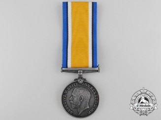 A British War Medal to the Canadian Machine Gun Brigade