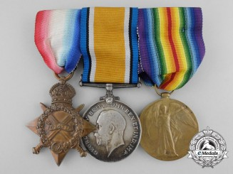 A First War British Medal Group to the Royal Engineers