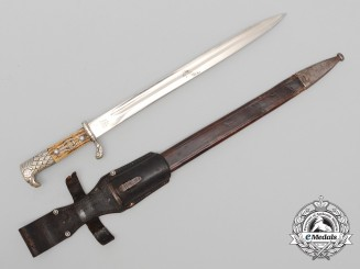 A Rare German NSKOV Veteran's Organisation Long Bayonet by Alcoso