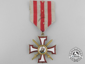Latvia. An Order of the Bear Slayer; Knight's Cross, c.1940