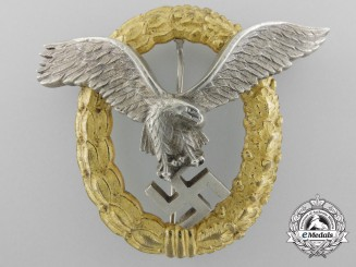 A Luftwaffe Combined Pilot's & Observer's Badge by Friedrich Linden, Lüdenscheid