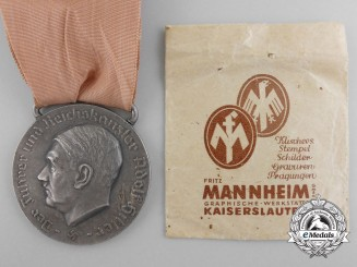 A Rare Large District Ludwigswinkel Mayor's Medal by Fritz Mannheim