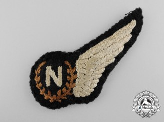 A Fine Second War RCAF/RAF Navigator Wing