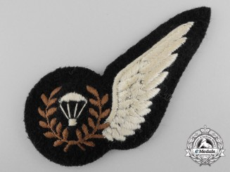 A Fine Second War RCAF/RAF Para Wing