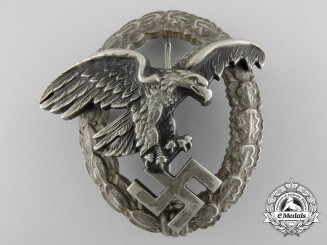 Germany, Luftwaffe. A Observers Badge, by Assmann
