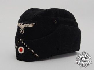 A Panzer Pioneer Battalion NCO's/Enlisted Man's Side Cap