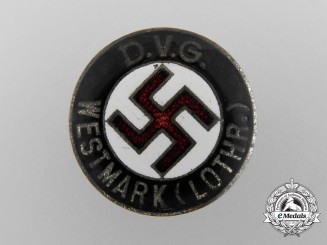 Germany, NSDAP. A Federation of Ethnic Groups Westmark Membership Badge