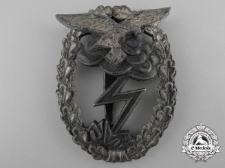 Germany. A Luftwaffe Ground Assault Badge; M.u.K. 5