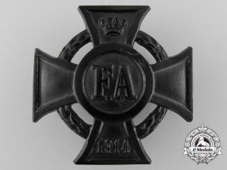 A First War Friedrich August Cross; 1st Class by Paul Maybauer