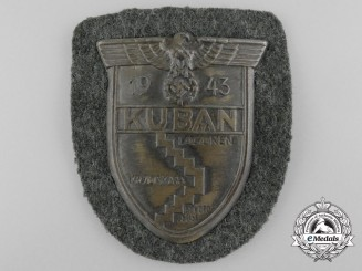 An Army (Heer) Issued Kuban Campaign Shield
