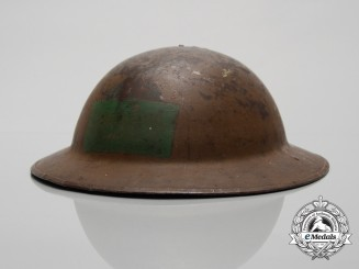"A First War 72nd Infantry Battalion ""Seaforth Highlanders"" Helmet"