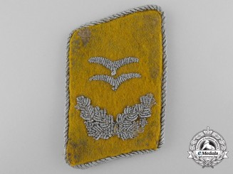 "A Luftwaffe First Lieutenant's ""Oberleutnant"" Flight Personnel Collar Tab"