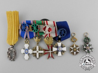 A Fine Set of Miniature Decorations, Awards, and Medals