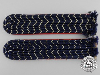 A Set of Mint Reichsbahn Shoulder Boards for Officials of Pay Groups 17a and 17
