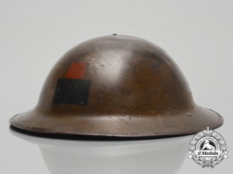 "A First War 26th Infantry Battalion ""New Brunswick Battalion""  Helmet"