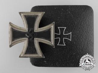 An Iron Cross First Class 1939 by Zimmermann with Case