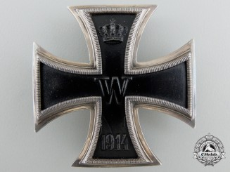 An Iron Cross 1st Class 1914 Engraved to Hugo Frölich