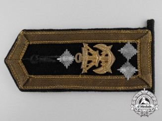 A Kriegsmarine Chief Petty Officer Shoulder Board