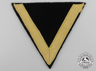 A Kriegsmarine Seaman 2nd Class (Gefreiter) Rank Chevron