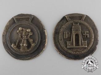 A German-Italian Africa Campaign Medal Zimmermann First Strike