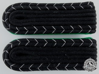 A Set of SS-Sicherheitsdienst Sturmmann Shoulder Boards