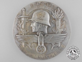 A Large Prototype Medal for the 1940 National Party Convention by Deschler