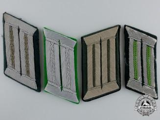 Four Second War German Collar Tabs