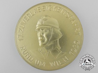 A 1939 NS Motor Corps Vienna Motor Reliability Examination Medal