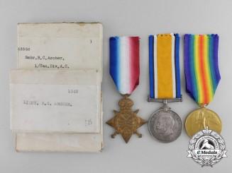 Canada, CEF. A Group to Lieutenant Archer; 1st Canadian Divisional Ammunition Column