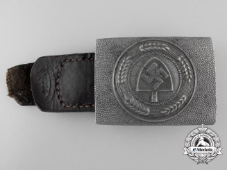 An RAD Enlisted Man's Belt Buckle by E.Schneider 1938