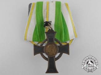 A First War Saxon War Merit Cross 1914
