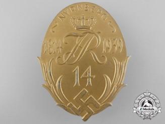 A 1814-1939 Nürnberg Veteran's Badge