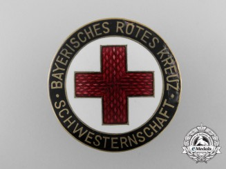 A Pre Second War Bavarian Red Cross Badge