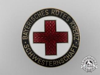 A Pre Second War Bavarian Red Cross Badge