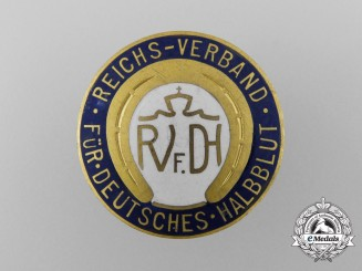 Germany, Third Reich. A National Association for German Half-Blood Membership Badge