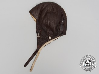 A Second War Luftwaffe Model K33 Winter Flying Helmet