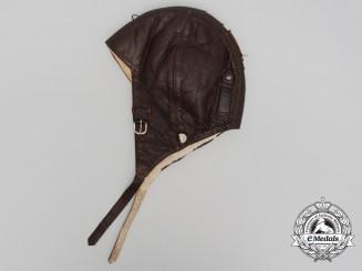 Germany, Luftwaffe. A Model K33 Winter Flying Helmet