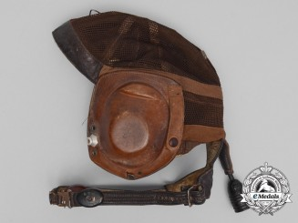 A Second War Luftwaffe Model L Kp N 101 Summer Flying Helmet