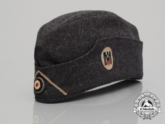 A Second War German Red Cross D.R.K. Paramedic Side Cap
