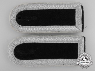 A Set of Late-War SS Infantry Scharführer Shoulder Boards