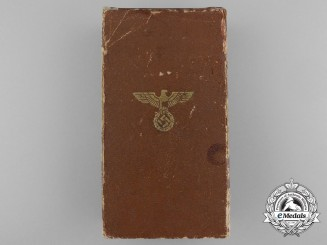 An NSDAP Long Service Award for Ten Years' Service Box